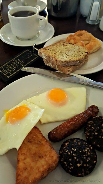 Breakfast at Yeats Country Hotel in Sligo. Ireland travel tips | Ireland vacation | IrelandFamilyVacations.com