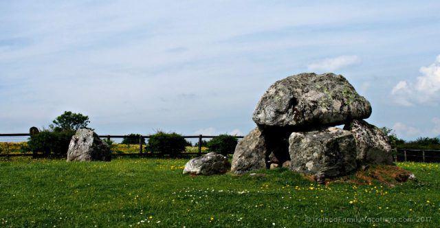 Tombs at Carrowmore Megalithic Cemetery. Ireland travel tips | Ireland vacation | IrelandFamilyVacations.com