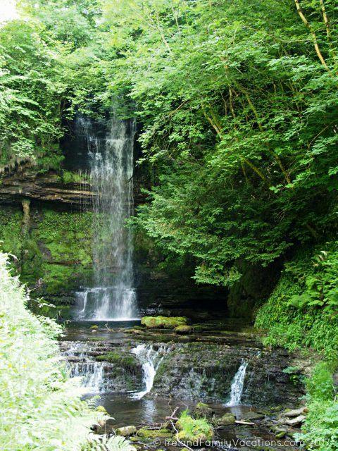 Glencar Waterfall, County Leitrim. Ireland travel tips | Ireland vacation | IrelandFamilyVacations.com