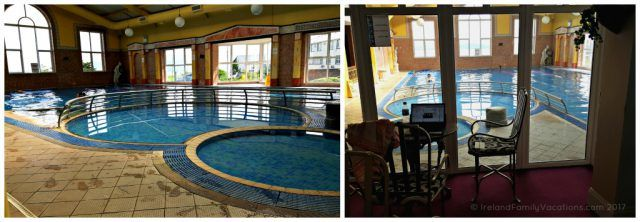 Leisure Centre at Yeats Country Hotel in Sligo. Ireland travel tips | Ireland vacation | IrelandFamilyVacations.com