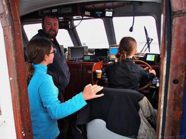 A new skipper. Ewing's Sea Angling & Boat Charters, Sligo. Ireland travel tips | Ireland vacation | IrelandFamilyVacations.com