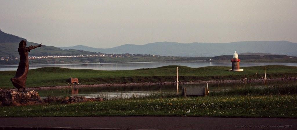 Seafarers Memorial in Sligo