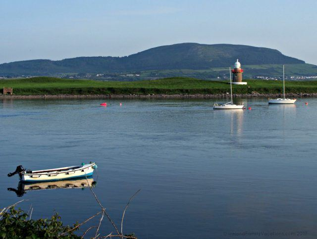 Calm evening on Sligo Harbour. Ireland travel tips | Ireland vacation | IrelandFamilyVacations.com