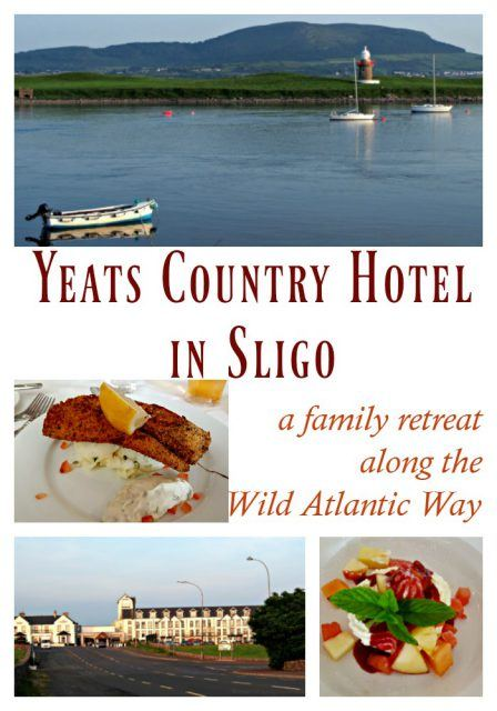 Yeats Country Hotel in Sligo. A perfect family hotel along the Wild Atlantic Way. Ireland travel tips | Ireland vacation | IrelandFamilyVacations.com