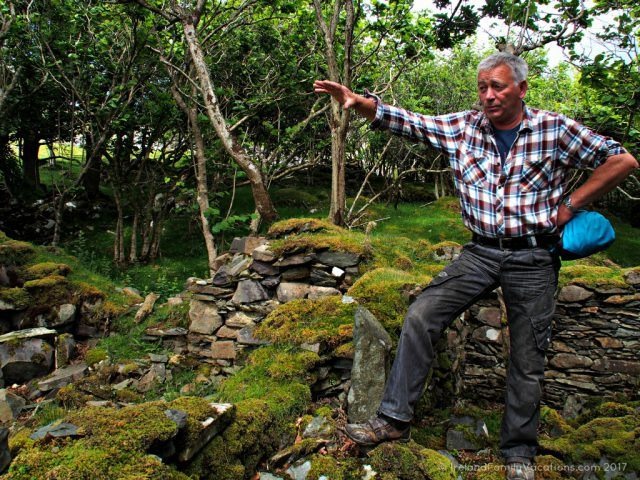 Gerard Bourke shares the story of The Lost Valley in County Mayo. Ireland travel tips | Ireland vacation | IrelandFamilyVacations.com