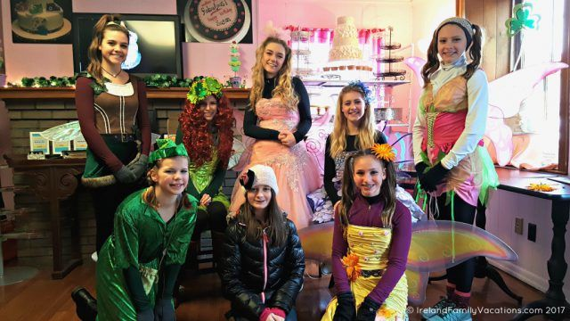 Sometimes the Irish Fairies come out to play in Dublin, Ohio. Irish culture in the US via IrelandFamilyVacations.com