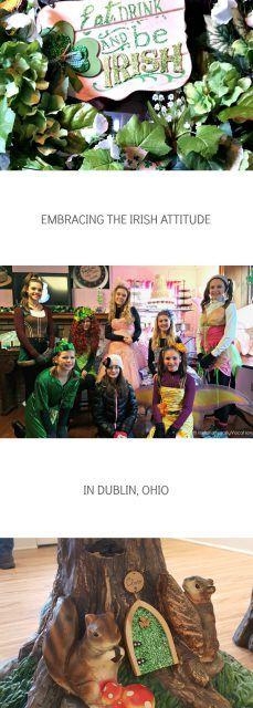Embracing the Irish Attitude in Dublin, Ohio. Irish culture in the US via IrelandFamilyVacations.com