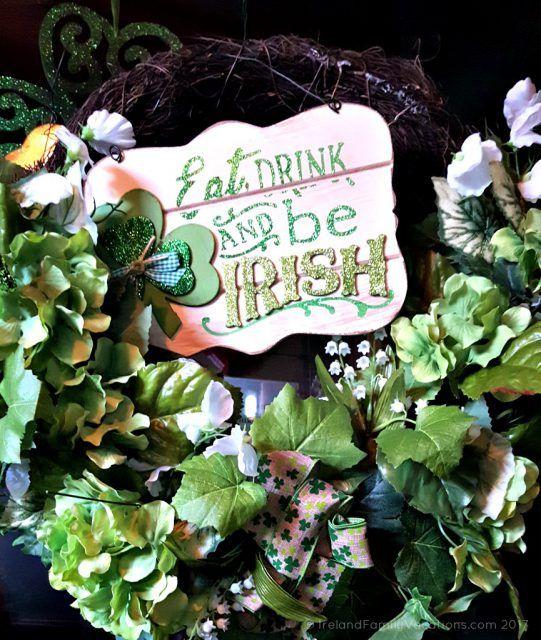 Eat Drink & Be Irish- Irish attitude in Dublin, Ohio. Irish culture in the US via IrelandFamilyVacations.com