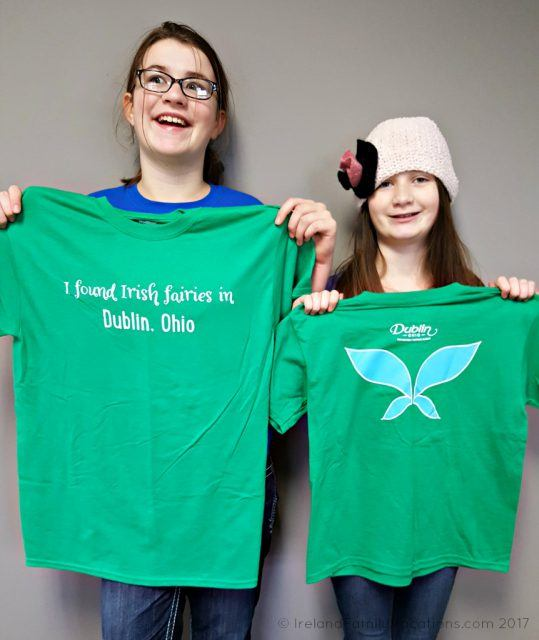 Official Fairy Finder t-shirts in Dublin, Ohio. Irish culture in the US via IrelandFamilyVacations.com