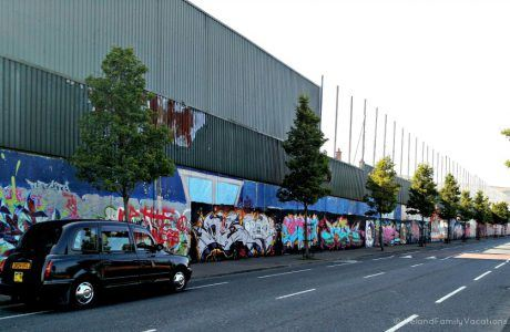 Peace Walls in Belfast