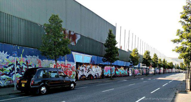 Belfast Black Cab Tour Peace Wall