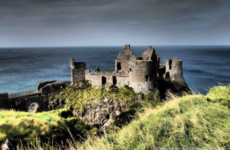 Dramatic Dunluce Castle