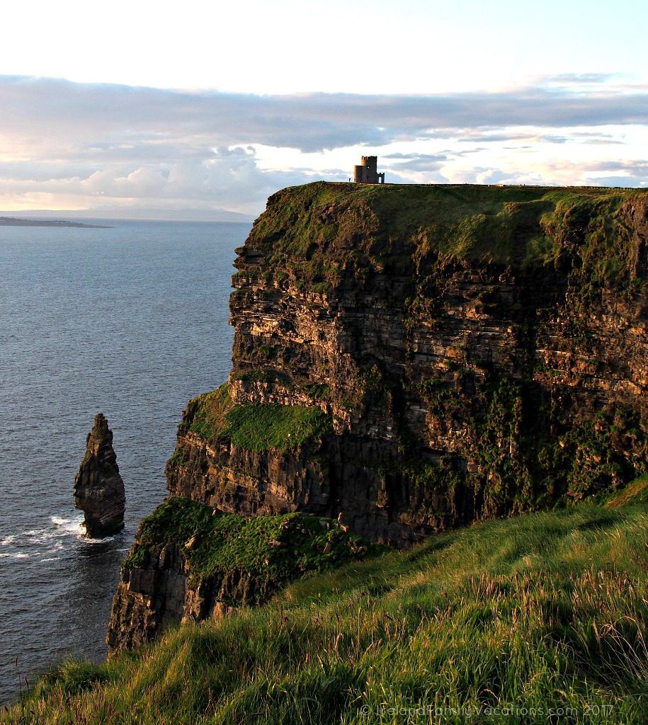 O'Brien's Tower atop the Cliffs of Moher. Ireland travel tips | Ireland vacation | IrelandFamilyVacations.com