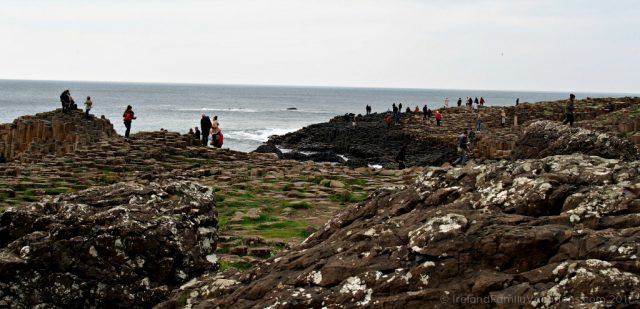 What to expect when you visit the Giant's Causeway. Ireland travel tips | Ireland vacation | IrelandFamilyVacations.com