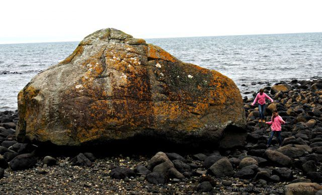 One of the Wren's Eggs, Blackhead Path, County Antrim, along Northern Ireland's Causeway Coastal Route. Ireland travel tips | Ireland vacation | IrelandFamilyVacations.com
