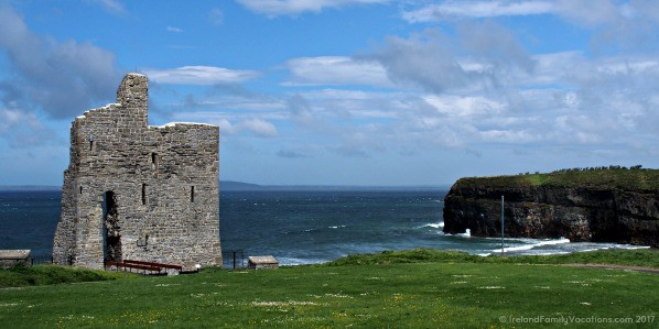 Ruins of Ballybunion Castle, County Kerry
