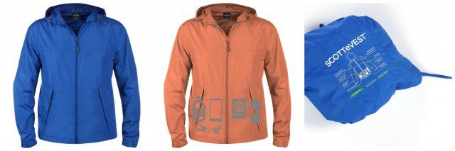 Pack-It Jacket by SCOTTeVEST. Raincoat for Ireland. Ireland travel tips | Ireland vacation | IrelandFamilyVacations.com