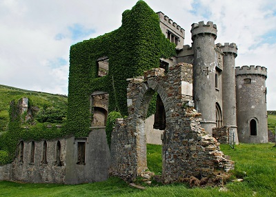 The Ruins of Clifden Castle