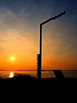 Sunset at Rosses Point Beach along the Wild Atlantic Way