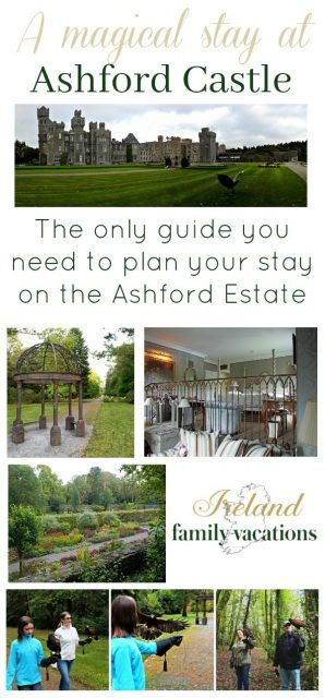 A stay at Ashford Castle in County Mayo, Ireland