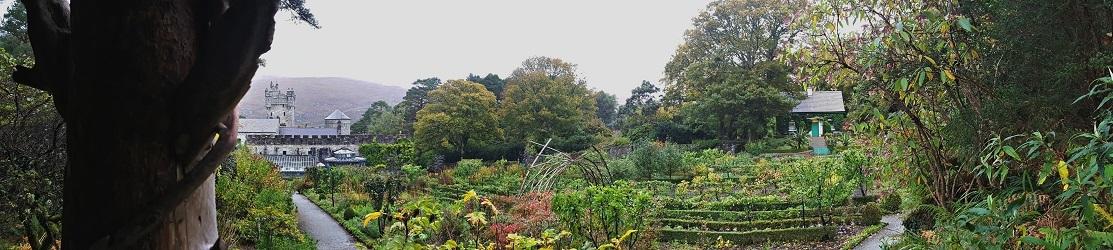 Walled Garden at Glenveagh Castle