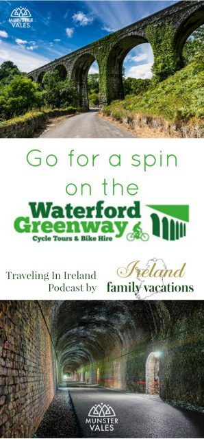 Waterford Greenway in County Waterford, Ireland