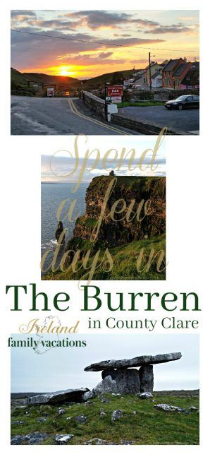 Spend a Few Days in the Burren in County Clare. Ireland travel tips | Ireland vacation