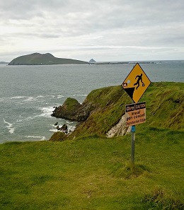 Great Blasket Island from Dunquin Pier