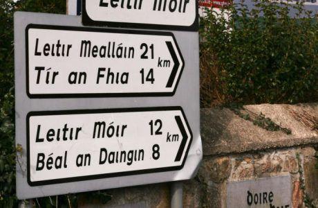 Year of the Irish Language with Eoin O'Conchúir of Bitesize Irish Gaelic | Traveling in Ireland Podcast Episode 51
