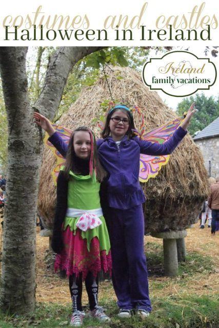 Halloween in Ireland - costumes and castles