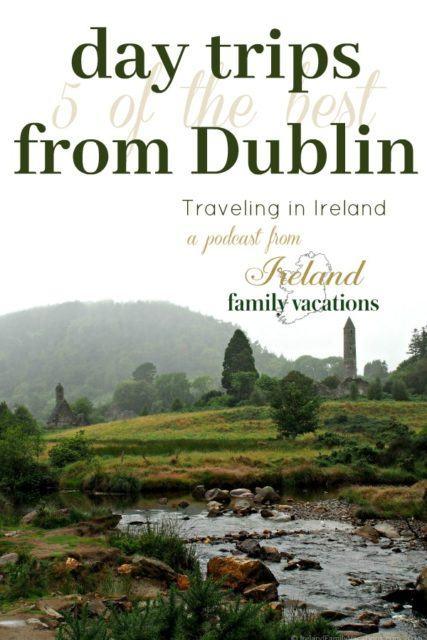 Glendalough, County Wicklow, Ireland. 5 Best Day Trips from Dublin