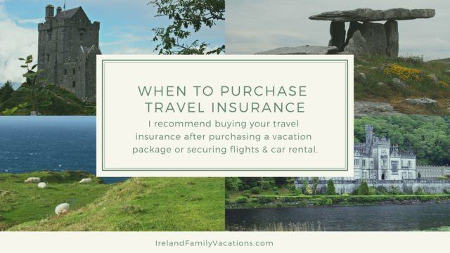 When should you buy travel insurance