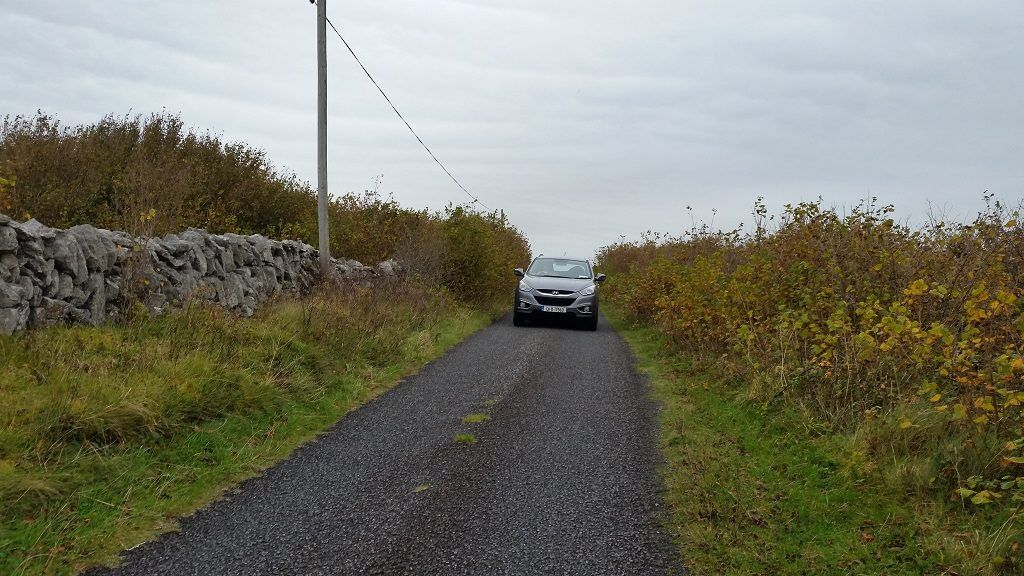 county road in County Clare, Ireland