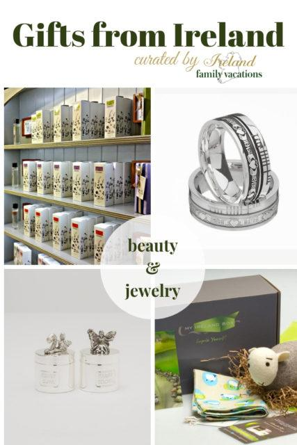 Beauty and Jewelry Gifts from Ireland