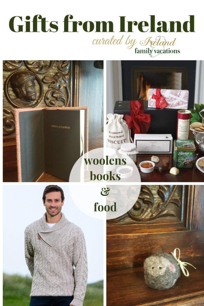 Give Gifts from Ireland: Woolens, Books & Food