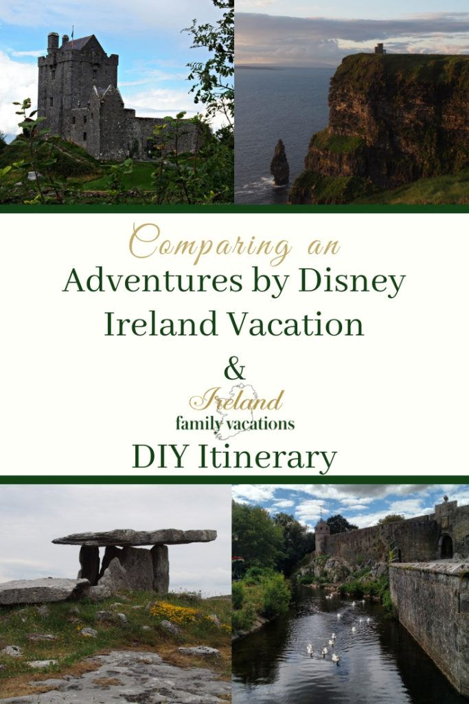Comparing Disney Trips to Ireland and Do-It-Yourself Ireland Itinerary