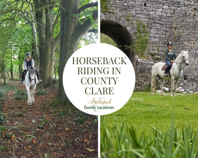 Horseback riding in Clare at Castlefergus Riding Stables