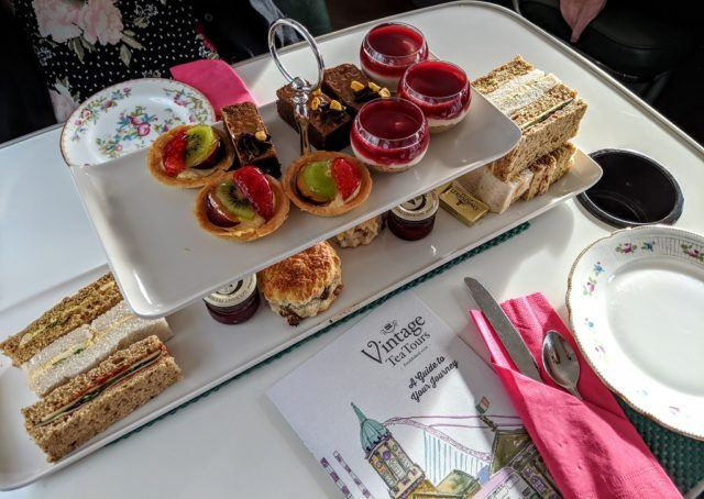 Traditional Afternoon Tea with Vintage Tea Tours Dublin