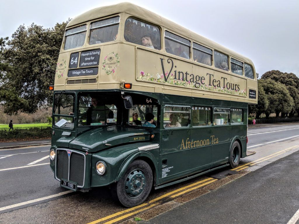 Kitty, a 1964 Routemaster double-decker bus. Vintage Tea Tours, Dublin