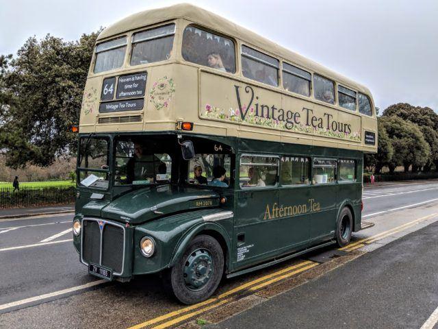 Kitty, a 1964 Routemaster double-decker bus. Vintage Tea Tours, Dublin