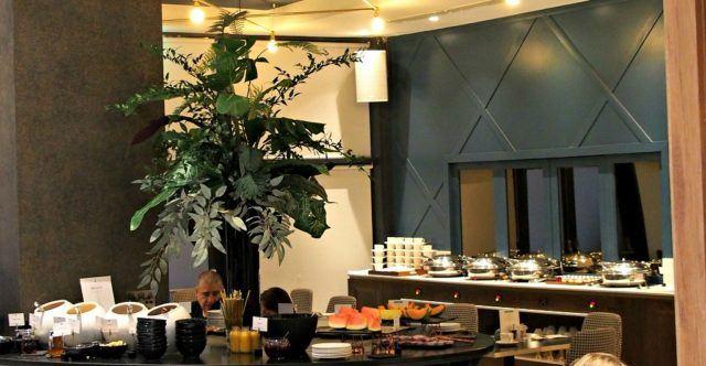 Breakfast Buffet at The Morgan Hotel, Dublin, Ireland