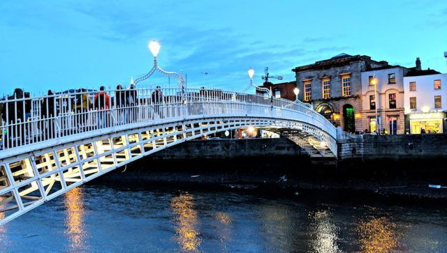 HaPenny Bridge Dublin. Photo by by Jody Halsted, Ireland Family Vacations