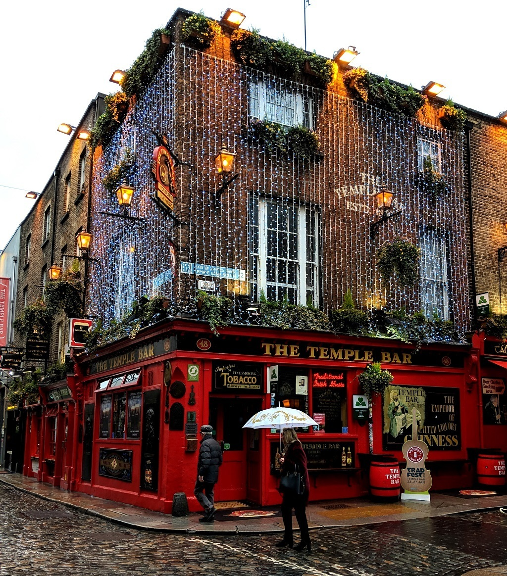 The Temple Bar in Dublin by Jody Halsted, Ireland Family Vacations