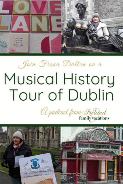 Musical History Tour of Dublin with Fiona Dalton