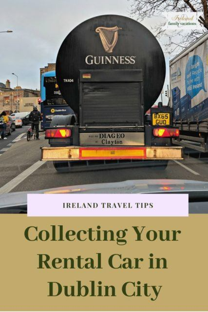 Collecting your rental car in Dublin