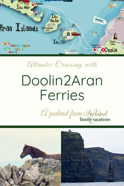 Cliffs of Moher Cruises + ferry service to the Aran Islands with Doolin2Aran Ferries