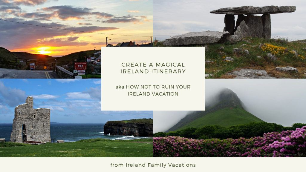 How to create an Ireland itinerary
