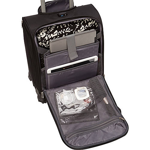 Carry-on luggage. Samsonite underseater with USB port