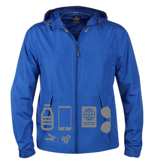 SCOTTeVEST Pack-It Jacket for Ireland travel