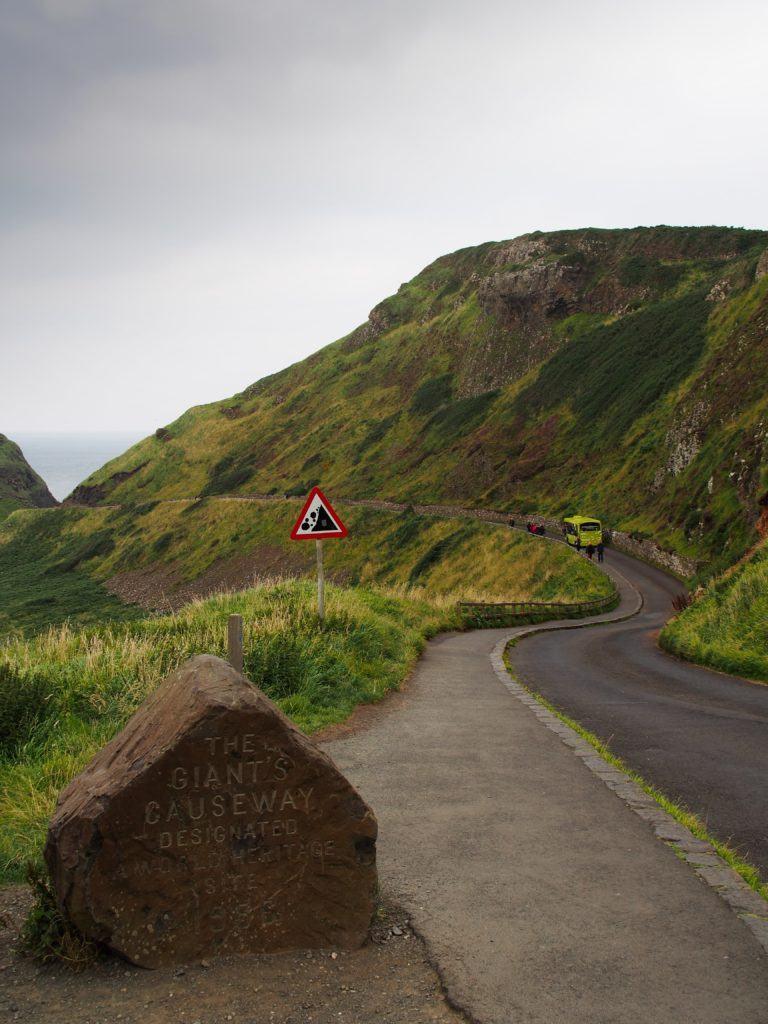Giant's Causeway, just ahead. Ireland travel tips | Ireland vacation